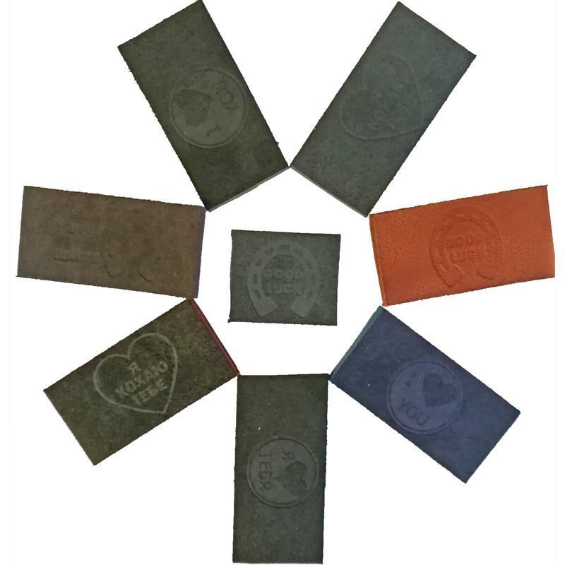 Ремень кожаный мужской черный для джинсов Bars