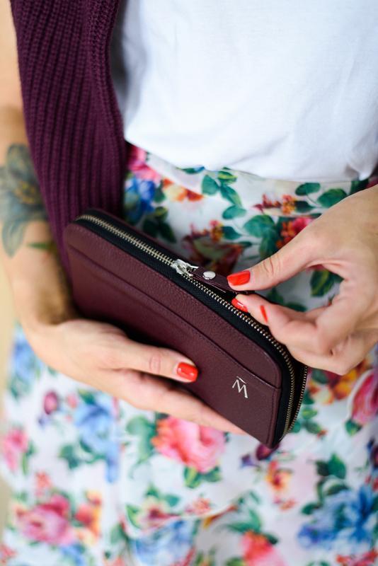 """Женское портмоне клатч из кожи """"Lisa"""", вместительное удобное портмоне для девушки"""