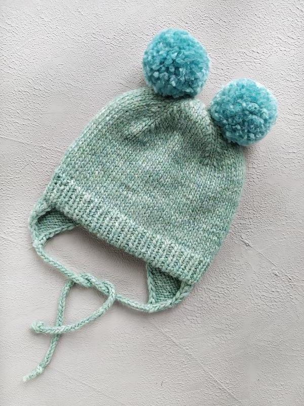 Вязаная шапка, детская шапка