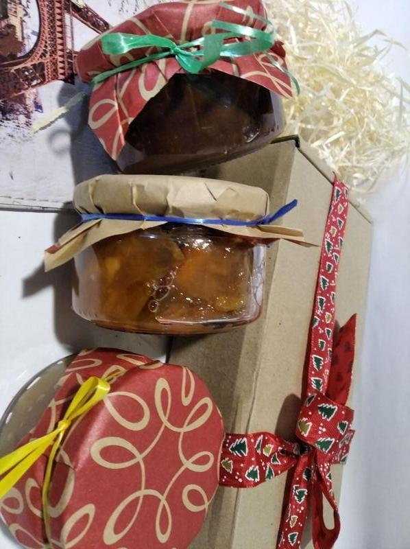 Акция+2 в подарок! Набор из 3 баночек. Варенье, десерт. (Всего 5 баночек)