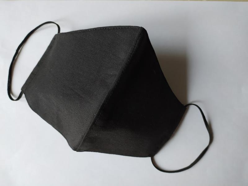 """Комплект из двух масок """"Черная и терракотовая"""""""