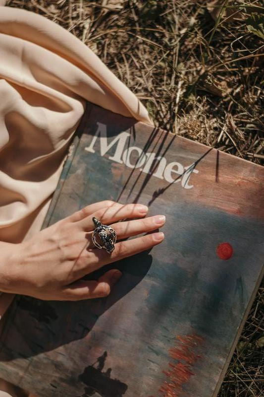 Кольцо с кристаллом черного турмалина кольцо с турмалином - шерл