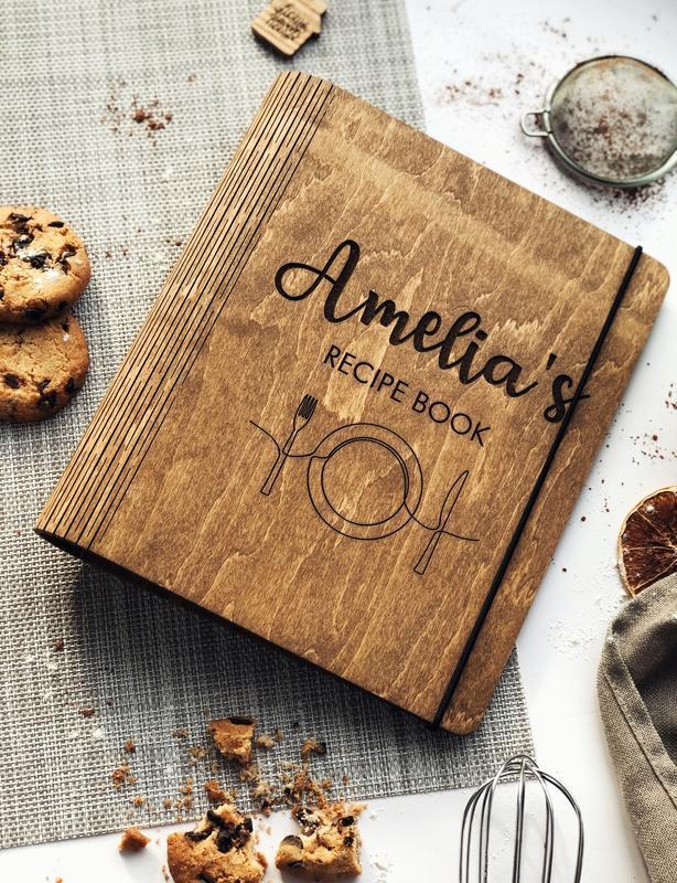 """Кулинарная книга / Книга для рецептов """"Recipe Book. Minimalist"""""""