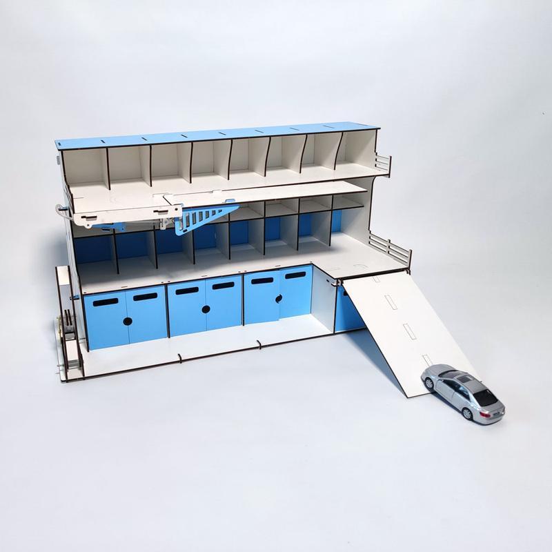 Гараж-парковка DaBo для машинок