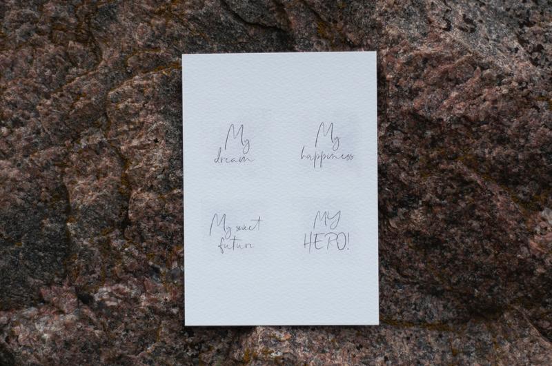 """Открытка """"My hero"""" для любимого мужчины. Подарок парню. Открытка для мужа. Подарок для будущего мужа"""