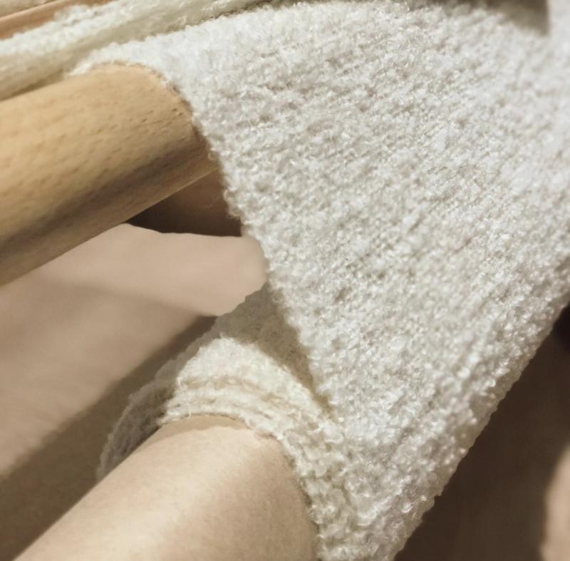 Женский тканый шарф из буклированной пряжи