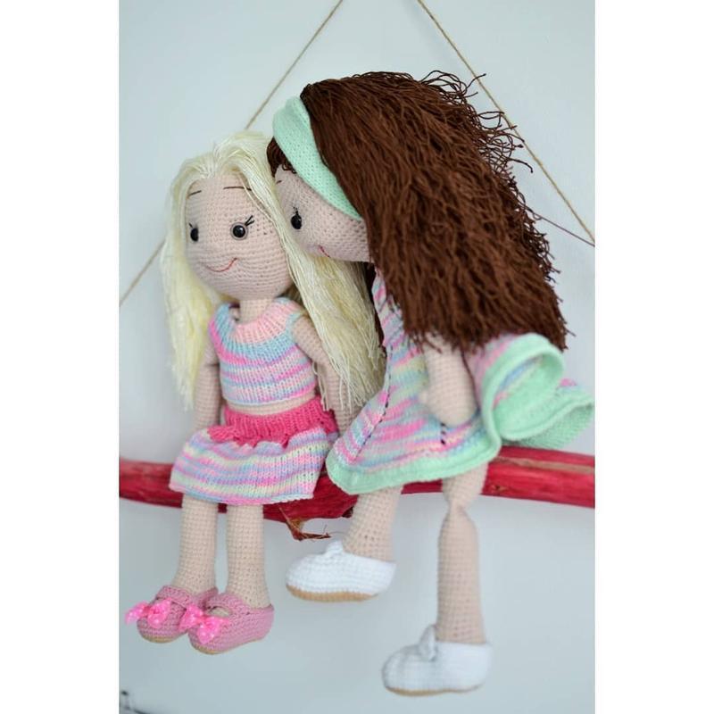 """Вязаная игрушка """"кукла"""" Настенька """"Авторская работа"""