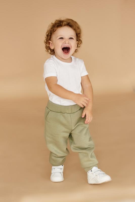 Детские спортивные штаны для мальчиков утепленные на байке 92 98 104