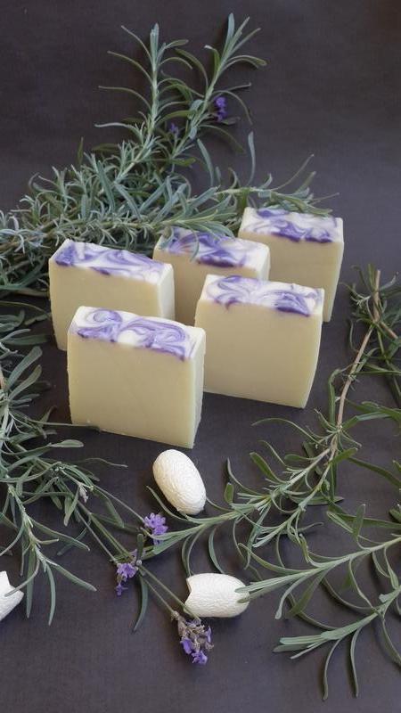 Натуральное мыло с нуля. Лавандовые сны (шелковое)