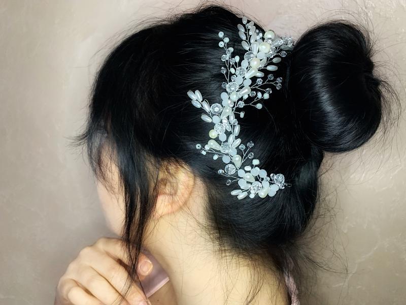 Свадебная веточка для причёски