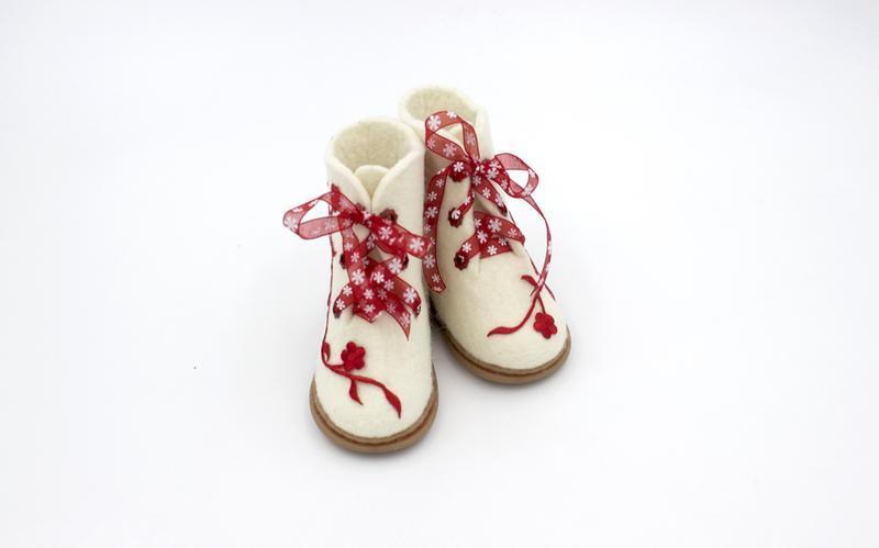 """Детские войлочные ботинки """"Мерри"""""""