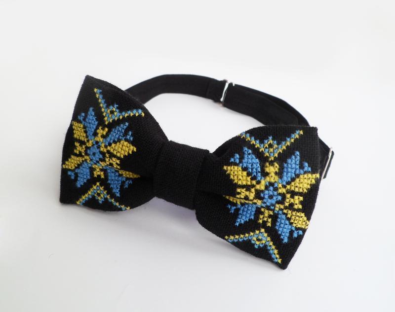 Бабочка «Украинский орнамент»