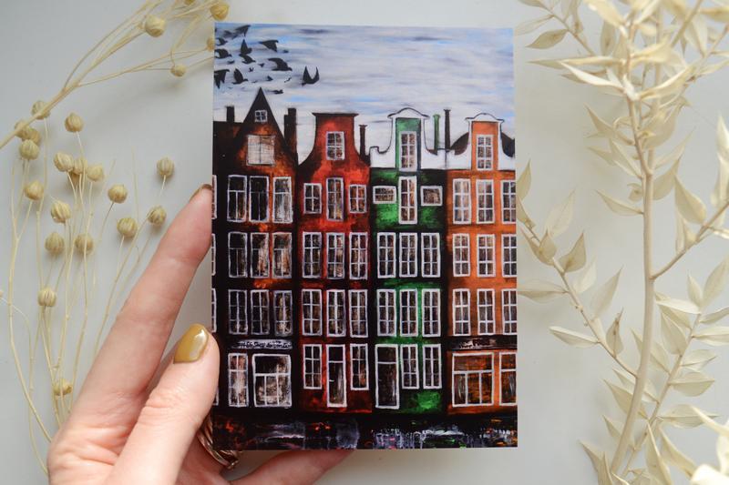 """открытка """"Амстердам"""""""