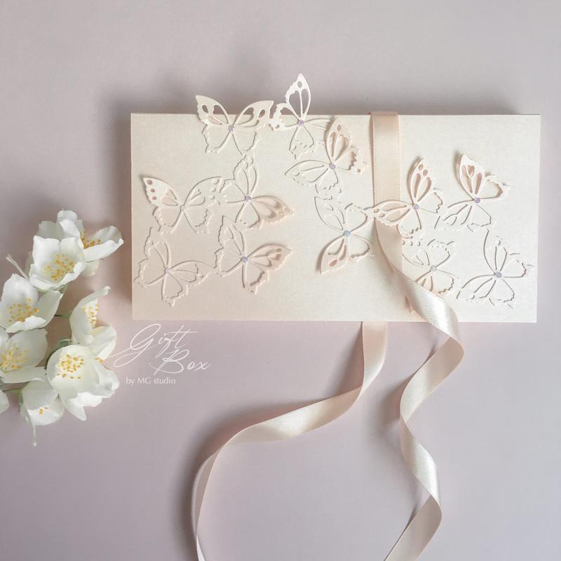 """Gift Box """"Butterfly"""" - открытка в коробочке"""