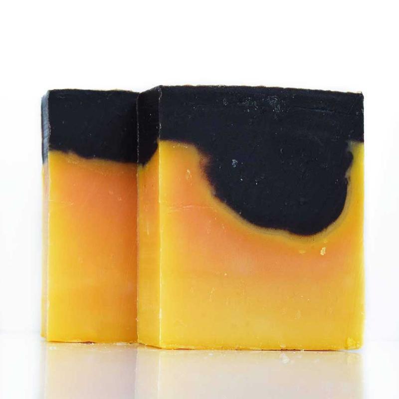 Шоколадно-цитрусовое мыло