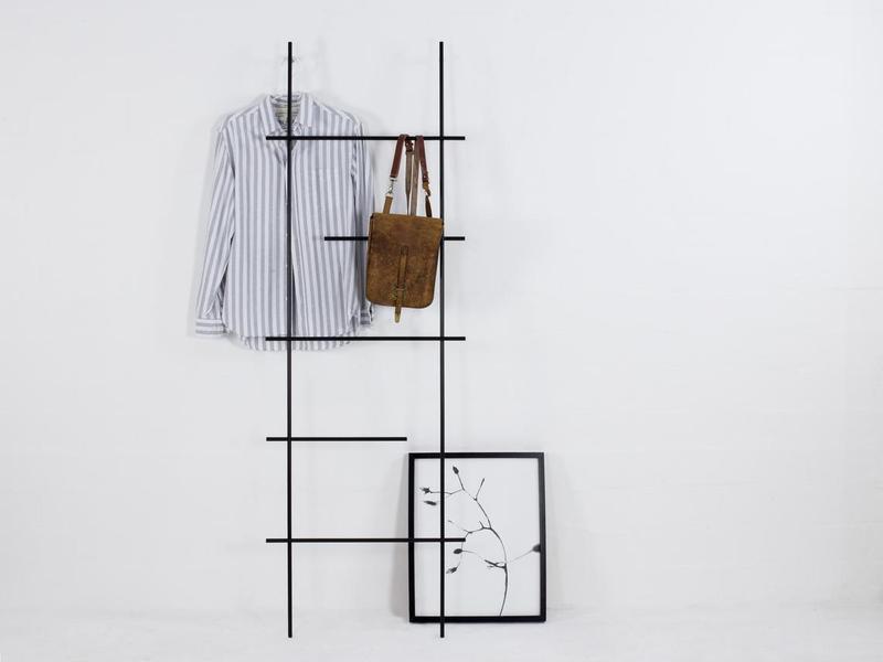 Стойка для одежды металлическая в стиле Лофт