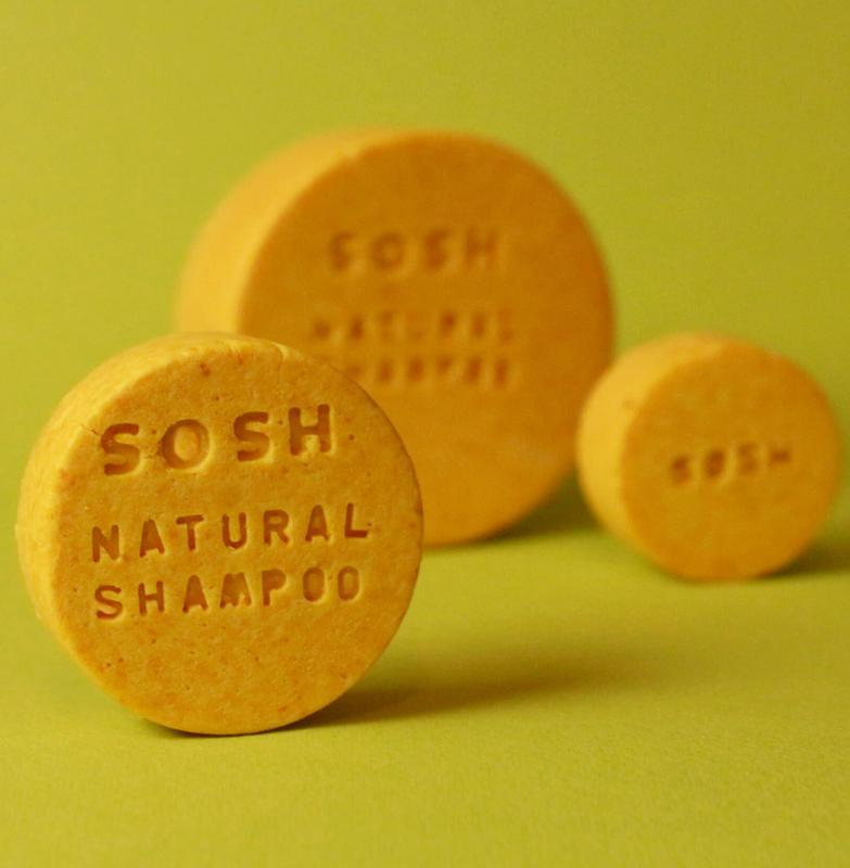 Твердый шампунь SOSH (S) восстанавливающий (апельсин)