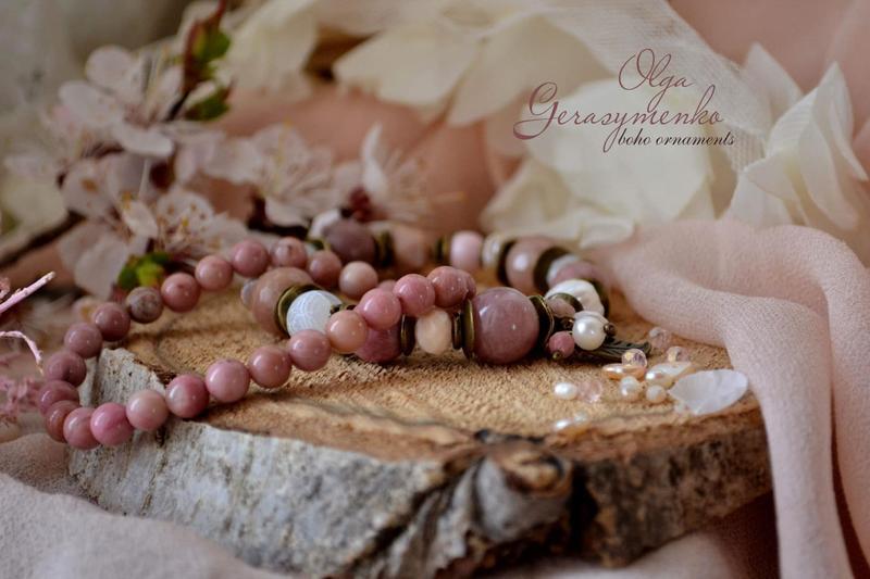 Комплект браслетов ′Весеннее свидание′