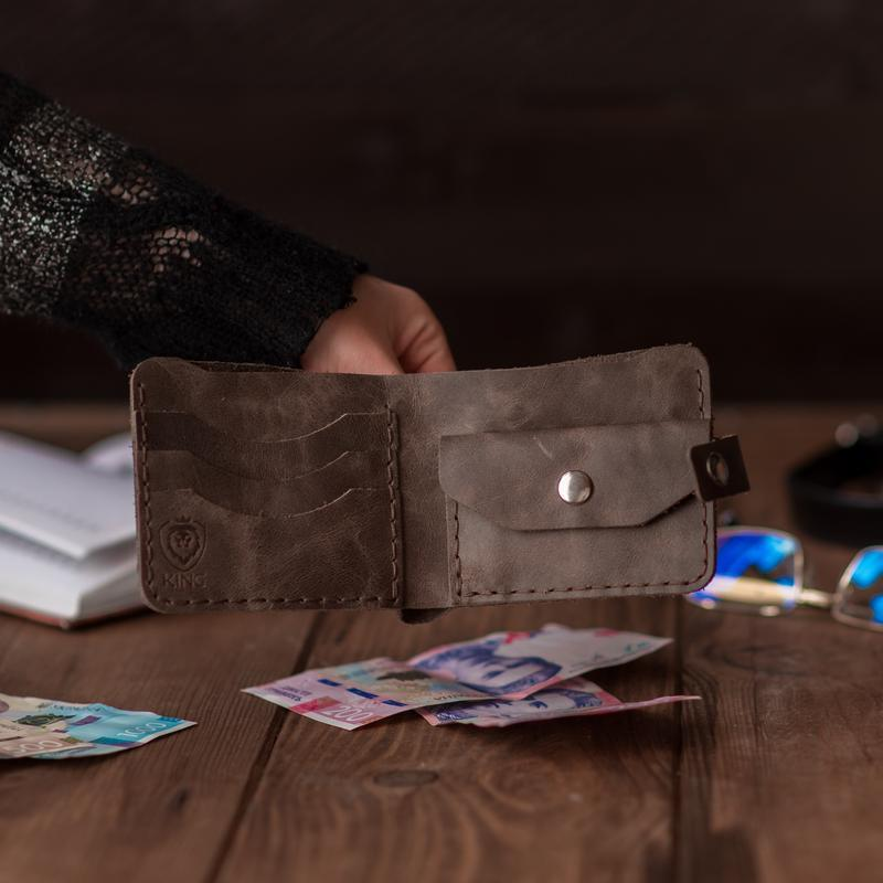 Кожаный кошелек  KING