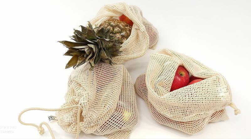 экомешочки из органического хлопка, сетка для продуктов, экомишечкы