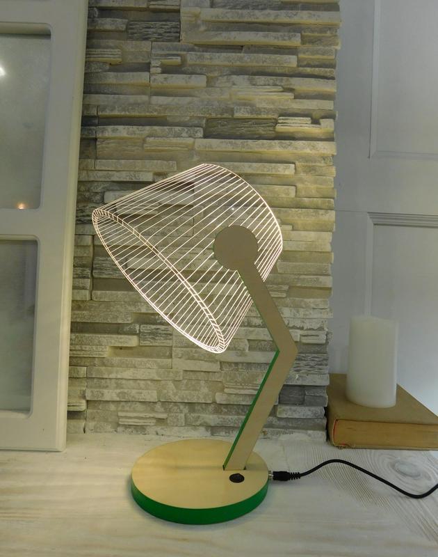 Светильник Настольная лампа 2D