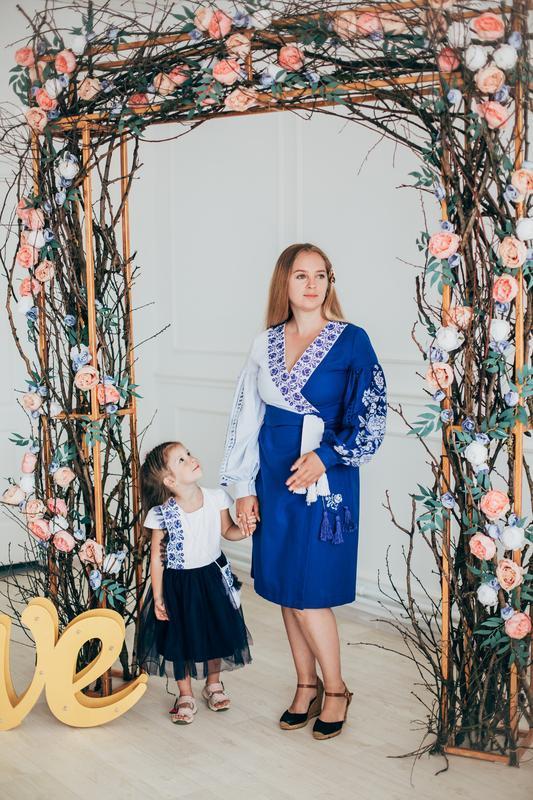 """Вишитие  платье """"Мама и Дочка"""""""