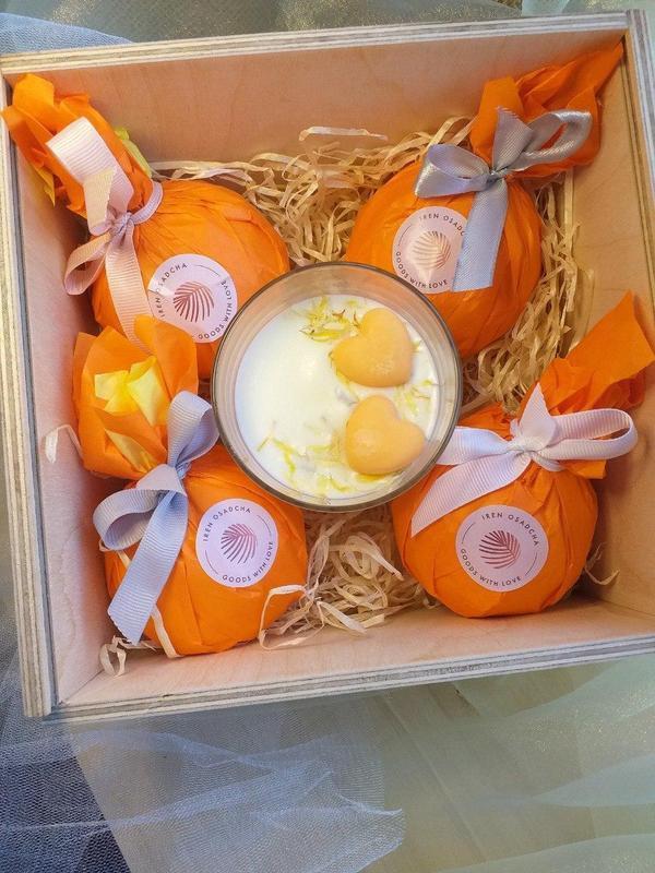 Набор апельсиновый relax