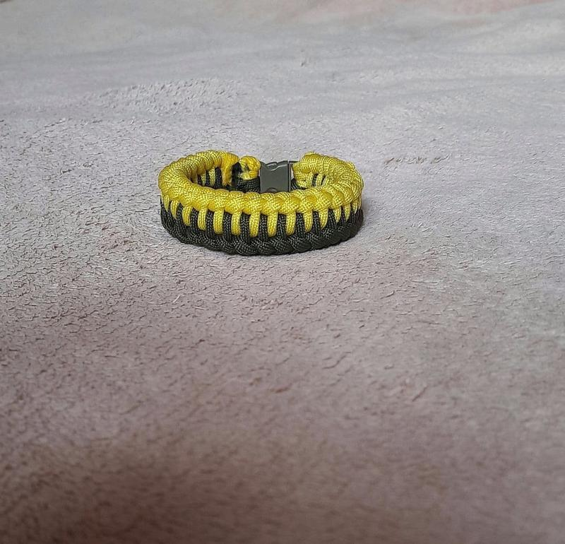 Мужской браслет водолей, браcлет из паракорда aquarius