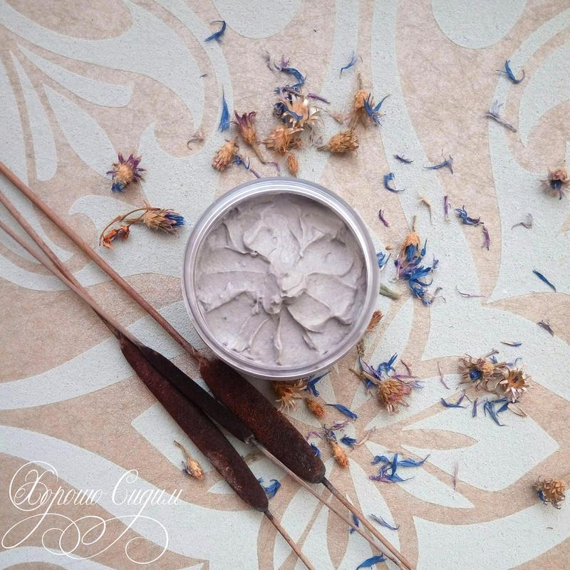 Маска для лица с голубой глиной «Тонус и Обновление»