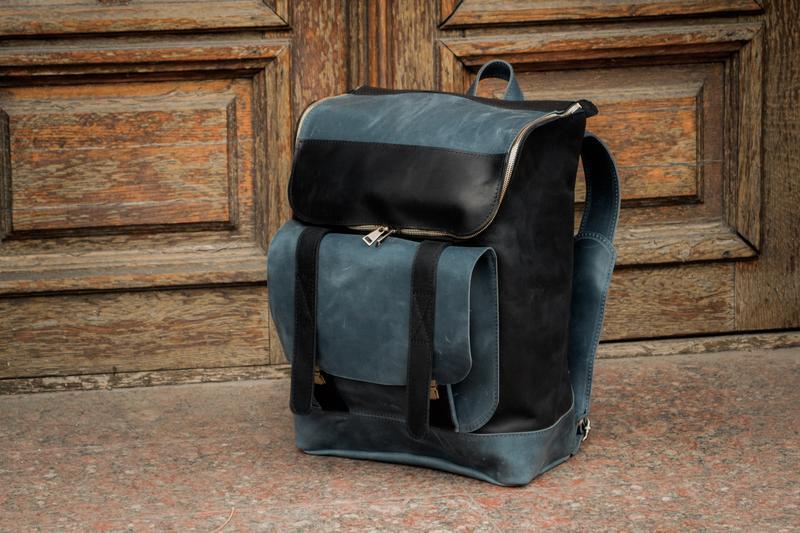 Кожаный спортивный рюкзак. Рюкзак кожаный для путешествий