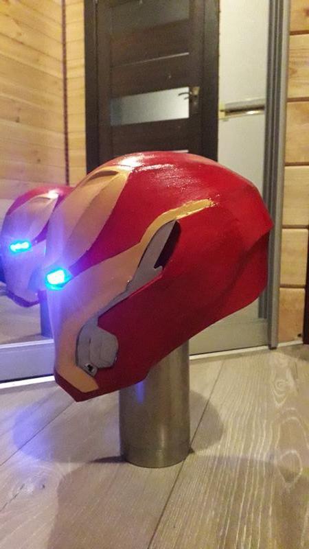Шлем Железного Человека Марк 50