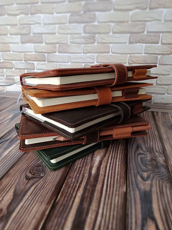 Кожаный блокнот многоразового использования,Кожаный блокнот с гравировкой,Кожаная обложка на блокнот