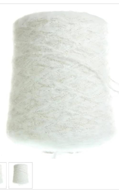 Белый короткий кардиган Бомбер вязаный белый