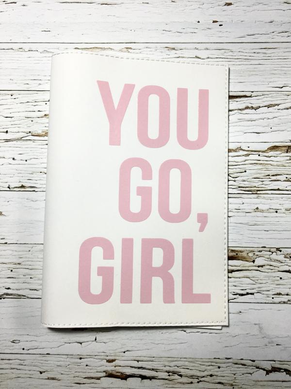 Обладинка на паспорт «YOU GO, GIRL»