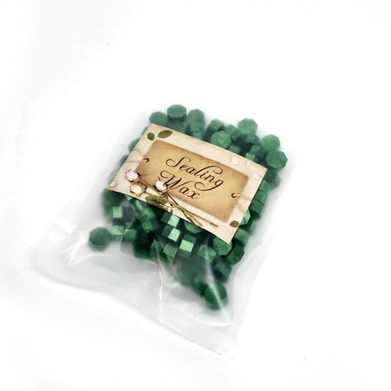 Сургуч декоративный (зеленый, синий, красный, золото, серебро)