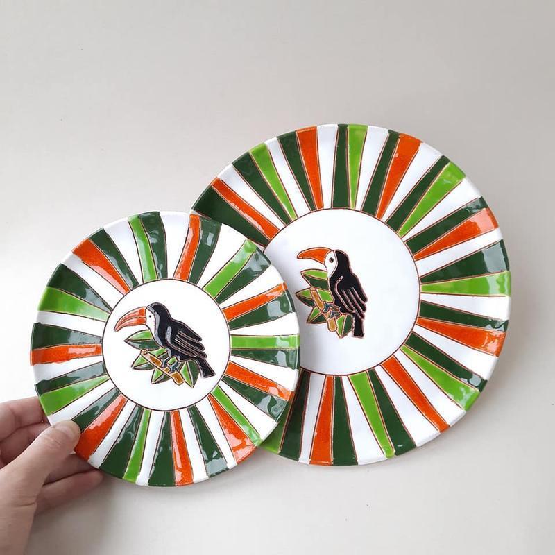 Набор тарелок керамических Сет13