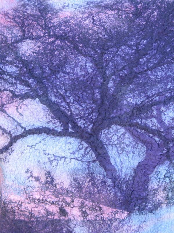 """Топ, джемпер """"Отражение. Сказочный лес"""""""