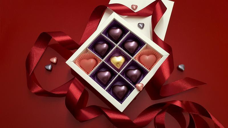 """Набор шоколадных конфет """"Golden Нeart"""""""