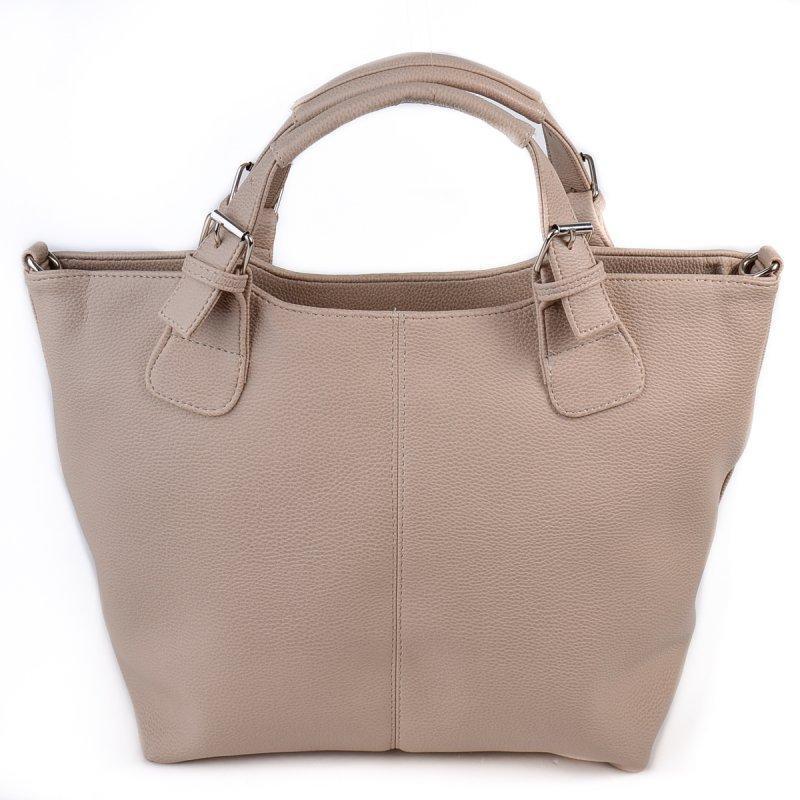 33c0971ed01d Женская сумка с короткими ручками Бежевая ручной работы купить в ...