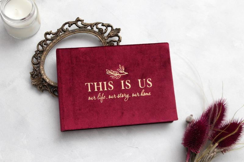 Червоний альбом, Бархатный альбом, Подарунок дівчині, Подарок парню, Подарок мужу, Річниця весілля