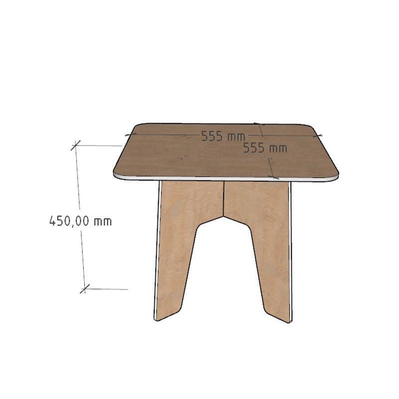 Детский деревянный столик из фанеры