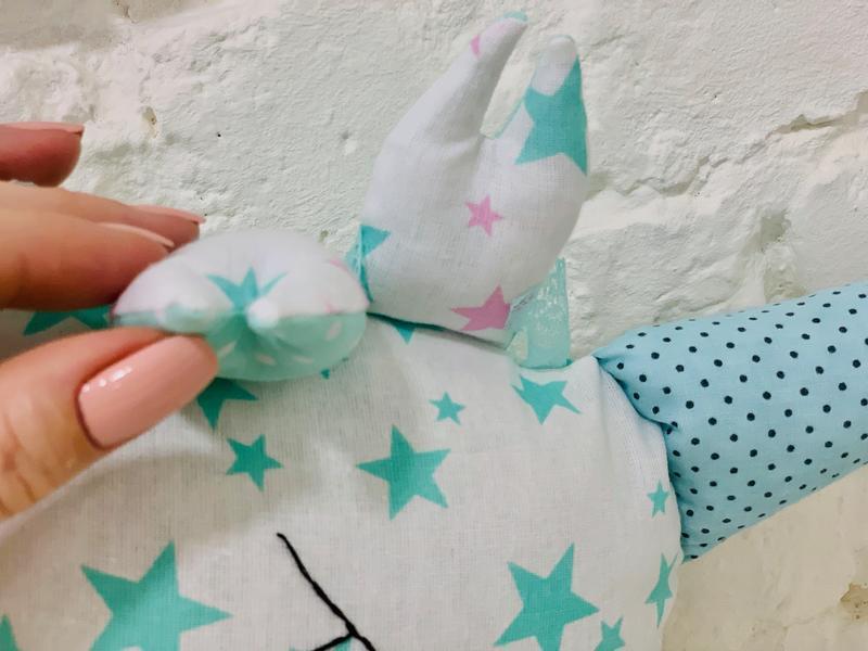 мятный единорог подушка-игрушка сплюшка-мягкие детские игрушки-подарки для детей