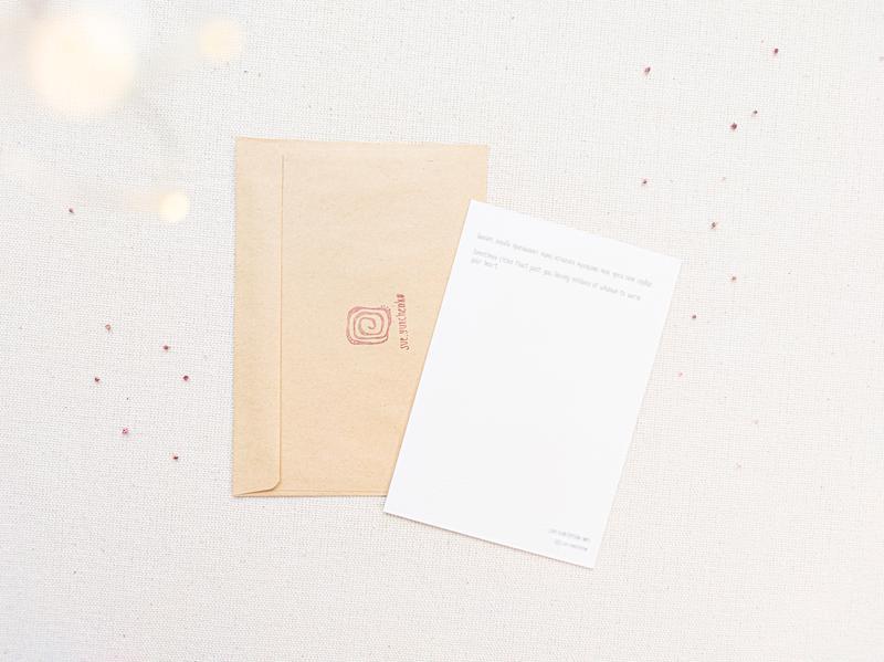 Открытка акварельная на арт бумаге (печать)