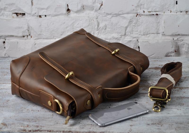 cfaaddd37a50 Мужская эксклюзивная сумка-портфель из натуральной кожи. ручной ...
