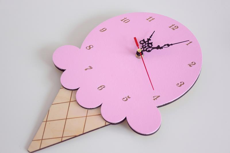 Часы настенные мороженное