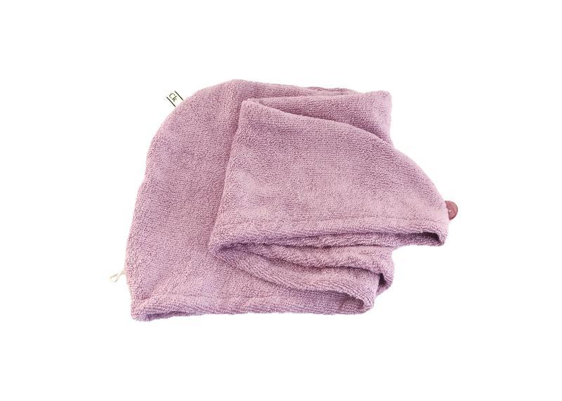 Полотенце-тюрбан из бамбуковой ткани для сушки волос.Чалма для волос. Полотенце из бамбуковой ткани.