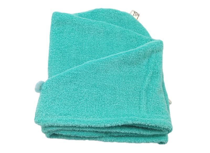 Полотенце из микрокоттона 100% хлопка.Полотенце-тюрбан для сушки волос.Чалма для волос.