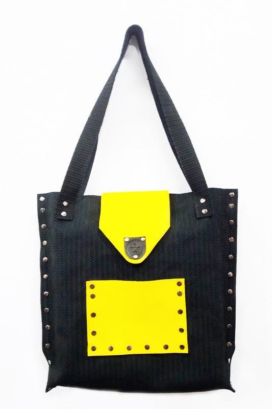Кожаная сумка от мастерской Wild