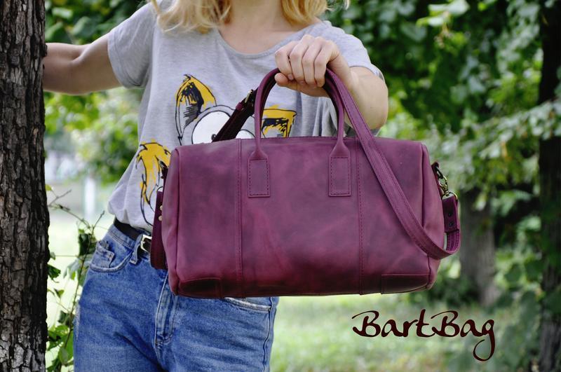 "Кожаная сумка ""Габриэль"""