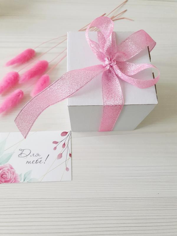 """Подарок Свеча соевая натуральная """"Magic love """" 200мл с кристаллами розового кварца и цветами"""